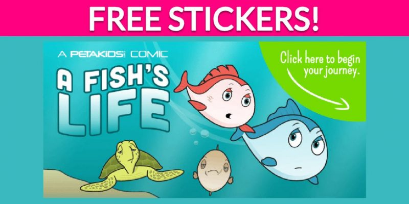 """Free """"A Fish's Life"""" Stickers!"""