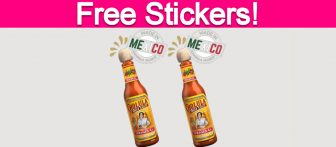 Free Cholula Hot Sauce Stickers!
