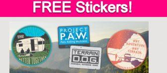 Free Terrain D.O.G. Stickers!