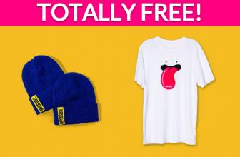 Free T-Shirt, Socks & More !