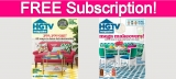 Free 2-Year Subscription to HGTV Magazine!