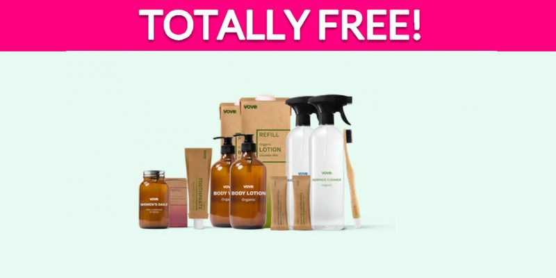 Totally Free Toothbrush & Bathroom Cleaning Kit!
