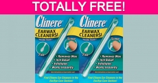 Free Clinere Earwax Cleaners by Mail!