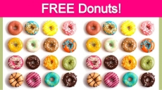 Free Donut of Your Choice! DAILY FREEBIE!