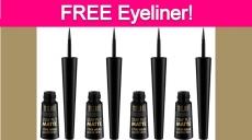 Free Milani Liquid Eyeliner!