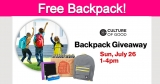 Free Backpack with School Supplies!