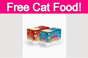 Possible Free Wet Cat Food!