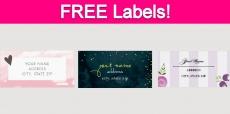 Free Address Labels!