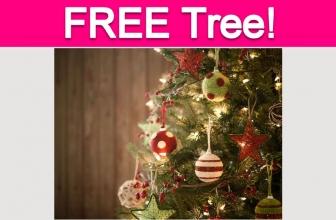 Free Decorated Christmas Tree!