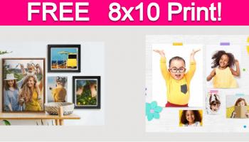 Free 8×10 Photo Print!