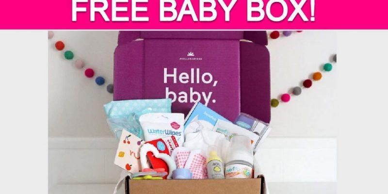 TOTALLY Free Hello Baby Box!
