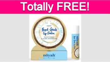 Possible Free Noyah Lip Balm!