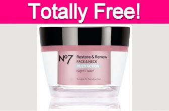 Free No7 Restore & Renew Face Cream!