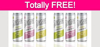 Possible Free Sunshine Sparkling Energy Water!