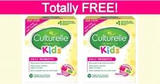 Free Culturelle Kids Daily Probiotic!
