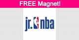 Free Jr. NBA Magnet for Parents