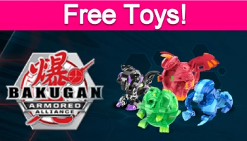 Possible Free Bakugan Toys!