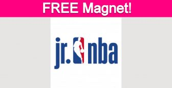 Free Jr. NBA Magnet for Parents