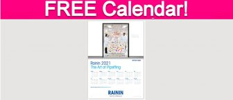 Free 2021 Rainin Calendar!