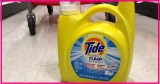 Totally FREE LARGE Bottle of Tide!