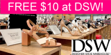Totally FREE $10 at DSW Shoes!