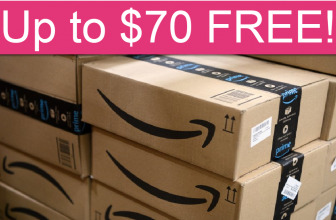 HURRY! Get up to $70 FREE at Amazon!
