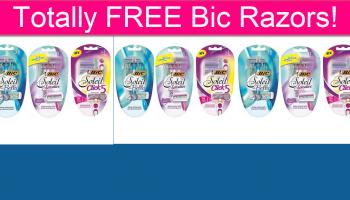 Totally FREE Bic Razors!
