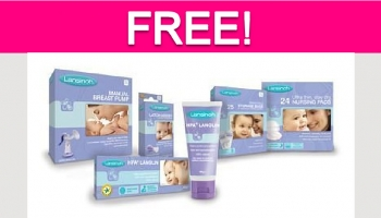 Totally Free Lansinoh Products!