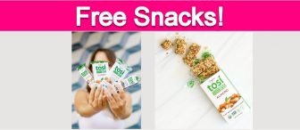 Possible Free Tosi Vegan Snacks!