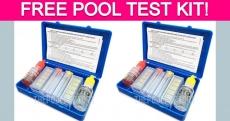 Free Pool Water Test Kit!