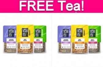 Possible Free Loose Leaf Tea!