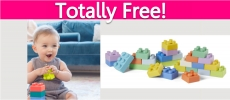 Possible Free Infantino Baby Building Blocks!