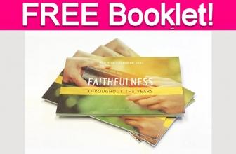 Free Faithfulness Booklet