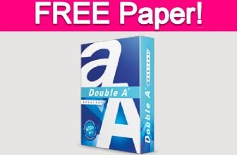 Free Printer Paper Sample!