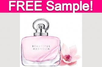 Free Estee Lauder Beautiful Magnolia Perfume Sample!