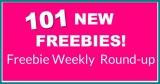 101 NEW FREEBIES This Week! ⭐ Round-Up List! ⭐