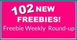 🌟102 NEW Freebies 🌟 this week! Freebie Round-Up List !