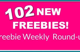 102 NEW Freebies This WEEK! OMG! Round-Up List.