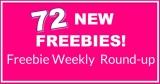⭐ 72 NEW Freebies! ⭐ HUGE Round- Up List !