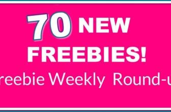 70 NEW FREEBIES this Week! 😮 WOWZA! 😮