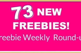 9/20 = Freebie Round Up ! 😱 73 NEW FREEBIES! 😱