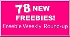 ⭐78 NEW FREEBIES!!! ⭐ HUGE Round-Up LIST!