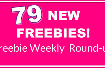 💓LARGEST LIST EVER! 💓79 NEW Freebies! Round-Up List.
