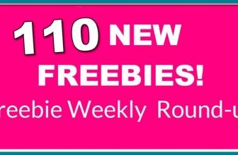 ⭐ 110 NEW Freebies! ⭐ Weekly FREEBIE Round-Up!