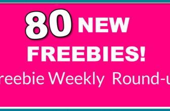 80 NEW FREE SAMPLES! ⭐ Freebie ROUND UP LIST! ⭐