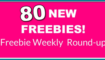 INSANE ROUND UP LIST! 80 NEW Free Samples!