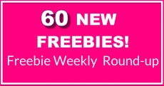 60 NEW FREEBIES THIS Week – HUGE Freebie Roundup List! { Sunday 10.13 }