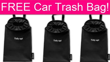 FREE Car Trash Bag by Mail!