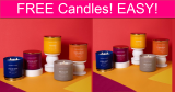 FREE Colonial Candles! EASY!