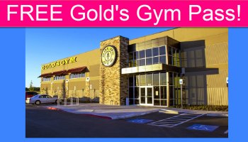 FREE Gold's Gym 7 Day Pass!